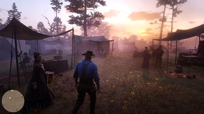 کمپ در Red Dead Redemption 2