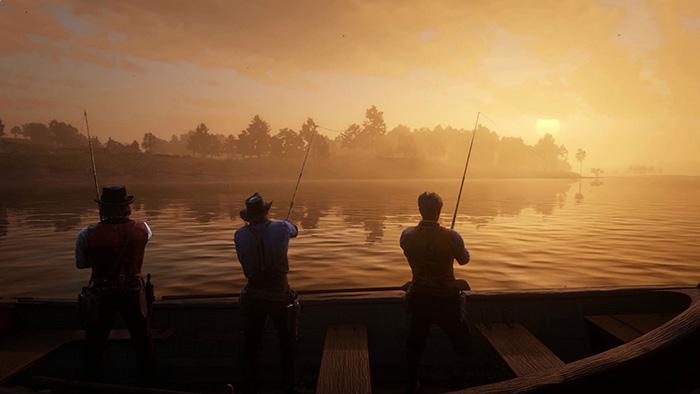 ماهیگیری در Red Dead Redemption 2