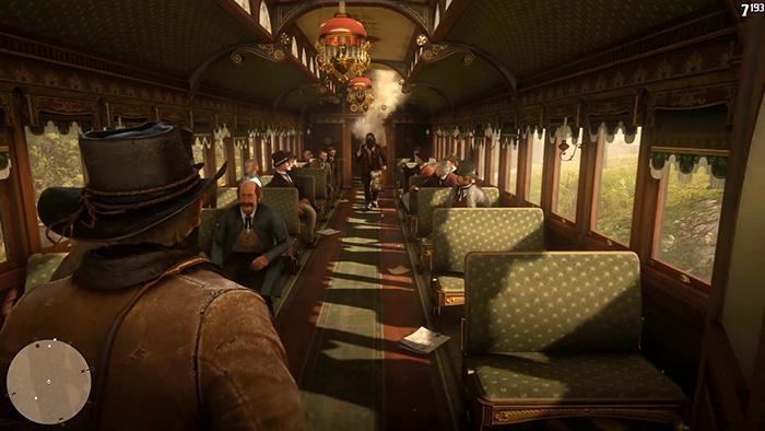 قطار دزدی در Red Dead Redemption 2
