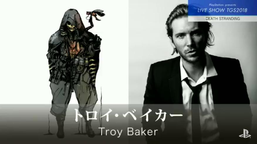 Troy Baker در بازی Death Stranding