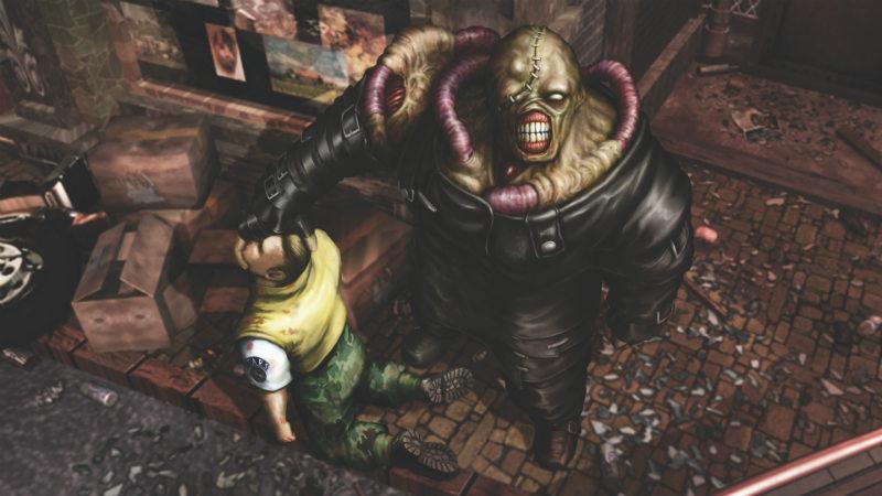شخصیت نمسیس در بازی Resident Evil 3: Nemesis