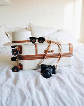 مدل چمدان سفری