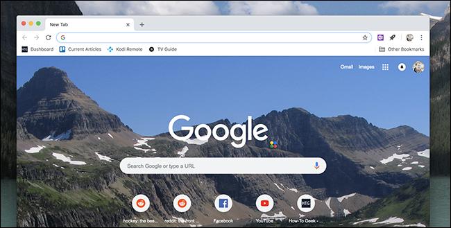 شخصی سازی صفحه تب جدید گوگل کروم