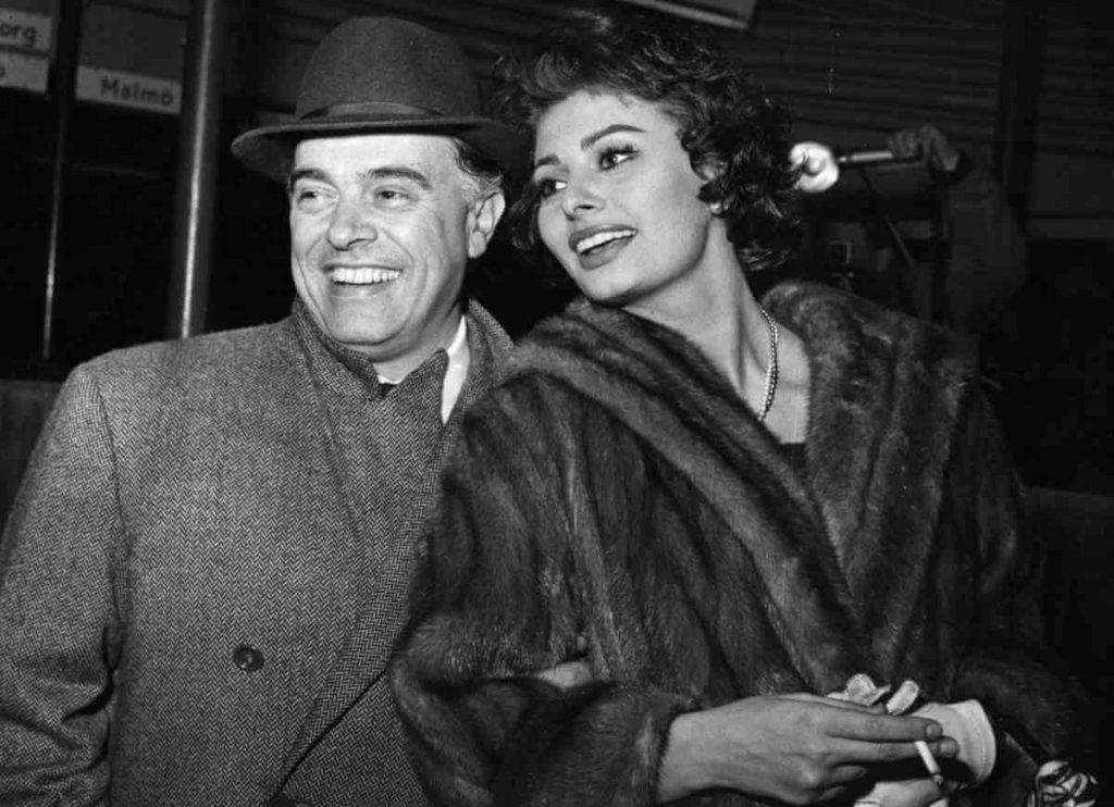 کارلو پونتی و سوفیا لورن