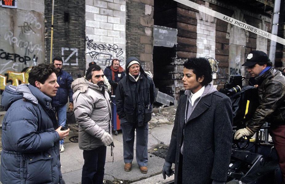 مارتین اسکورسیزی و مایکل جکسون