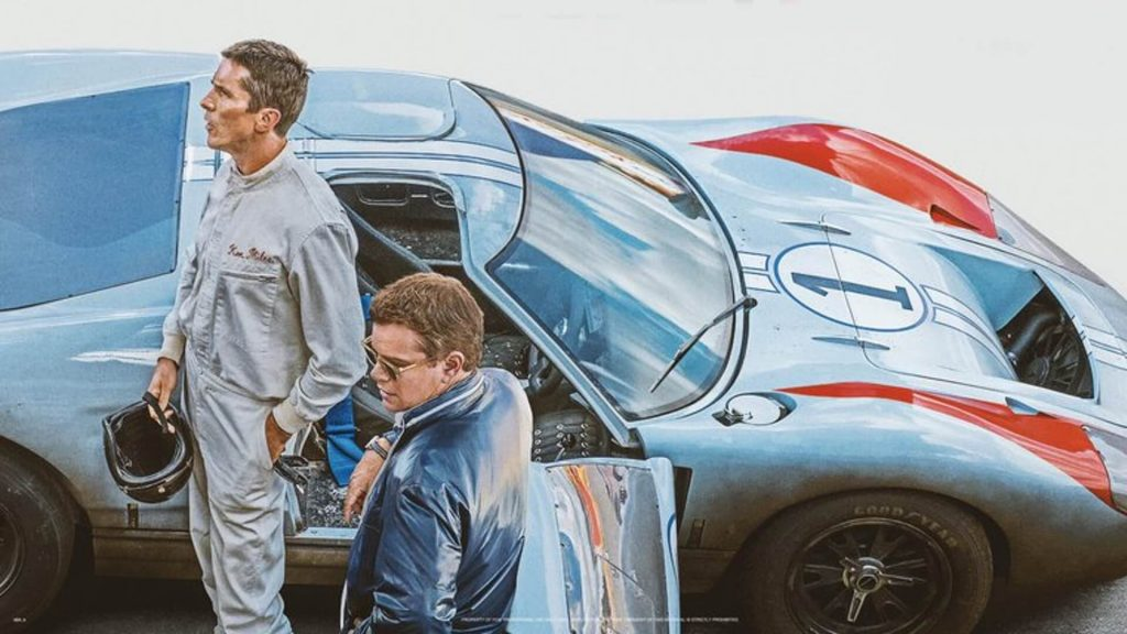مت دیمون کریستین بیل Ford v Ferrari اسکار
