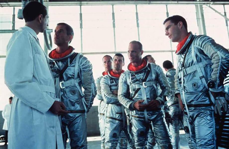 مردان واقعی فضایی