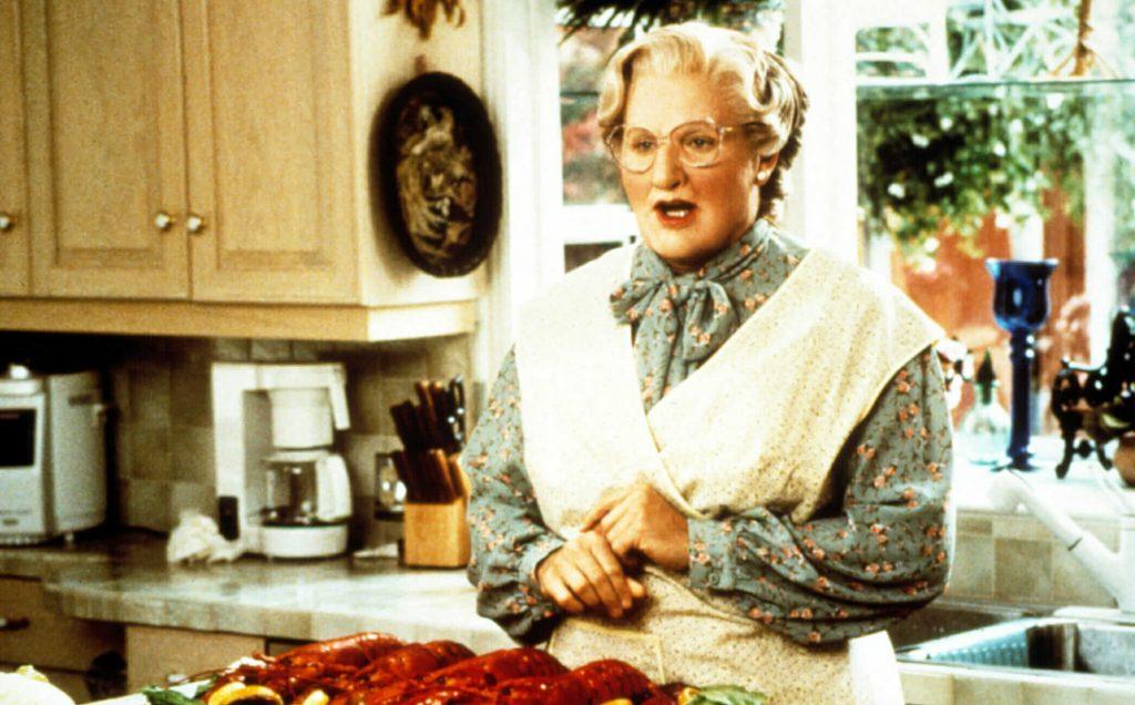 خانم داوتفایر - آشپزی