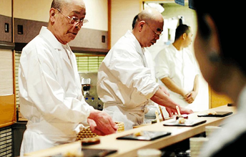 جیرو و رویای سوشی