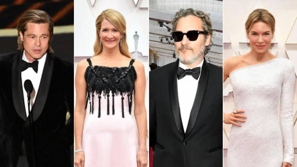 برندگان اسکار 2020 بخش بازیگری