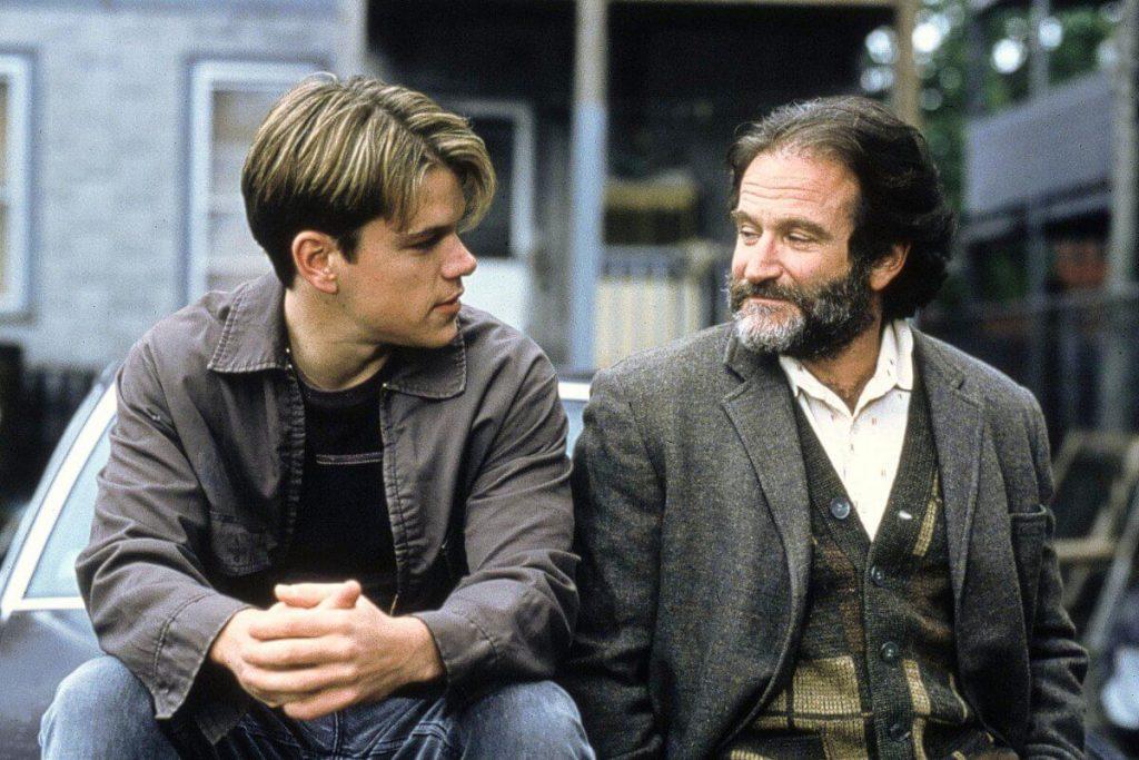 رابین ویلیامز و مت دیمون در ویل هانتینگ خوب
